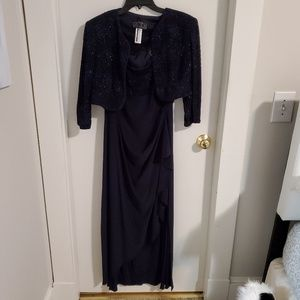Mother of the Bride/Groom Formal Dress with jacket